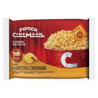 Pipoca para Micro-ondas Sabor Manteiga 120g - Cinemark