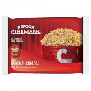Pipoca para Micro-ondas Original com Sal 90g - Cinemark