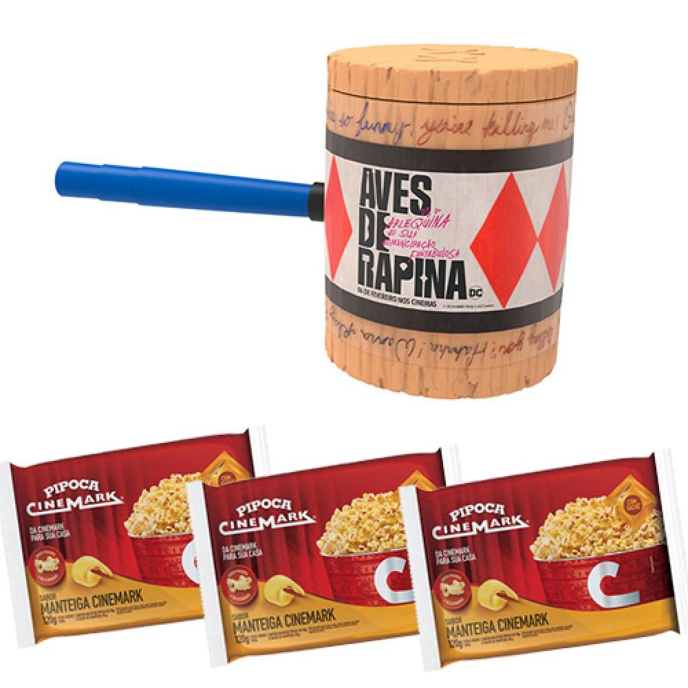 Kit Pipoca Aves de Rapina