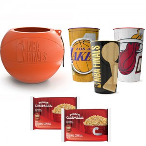 Kit Pipoca Finalistas NBA